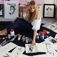Viola Bąbol - Artysta - Galeria sztuki Art in House