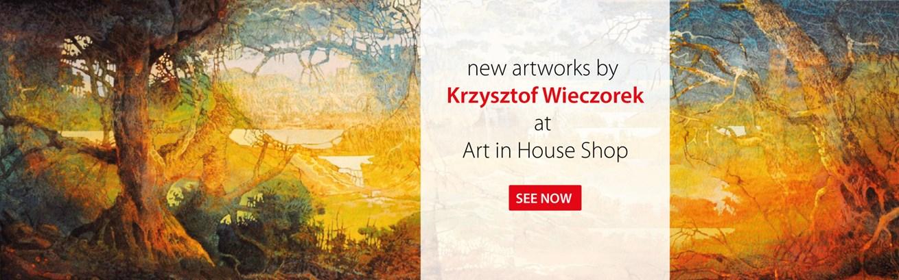 Nowe obrazy Krzysztofa Wieczorka