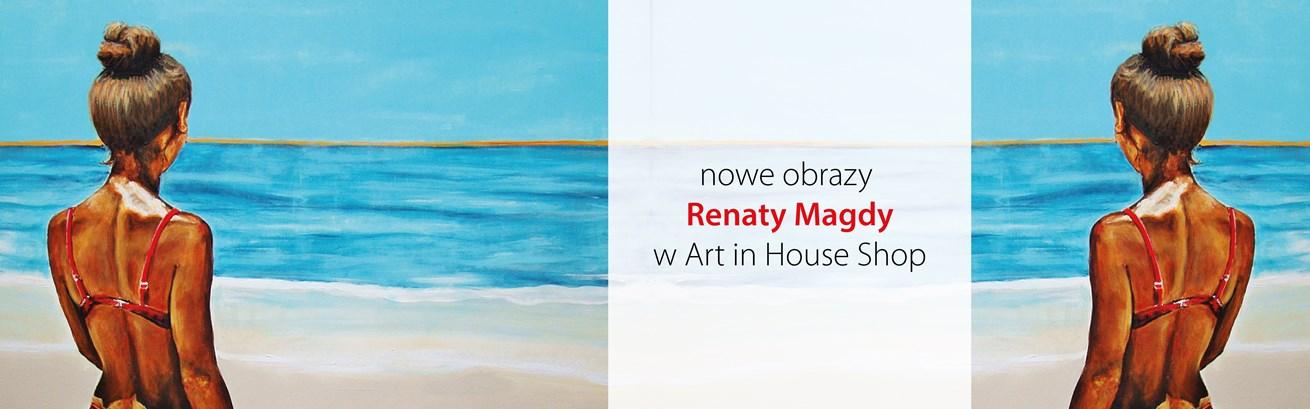 Nowe obrazy Renaty Magdy