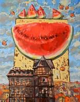 Obraz do salonu artysty Paweł Oleszkiewicz pod tytułem Smak lata