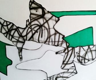 Obraz do salonu artysty Magdalena Karwowska pod tytułem Magda Karwowska,  Bez tytułu 1