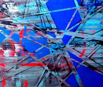 Obraz do salonu artysty Magdalena Karwowska pod tytułem Miasto O8