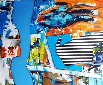 Obraz do salonu artysty Magdalena Karwowska pod tytułem Bez tytułu 4