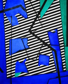 Obraz do salonu artysty Magdalena Karwowska pod tytułem Bez tytułu 7