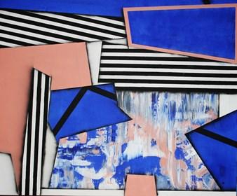 Obraz do salonu artysty Magdalena Karwowska pod tytułem Bez tytułu 8