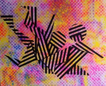 Obraz do salonu artysty Magdalena Karwowska pod tytułem Bez tytułu 9