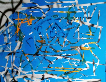 Obraz do salonu artysty Magdalena Karwowska pod tytułem Miasto 112