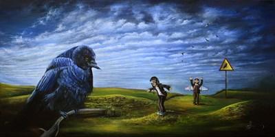 Obraz do salonu artysty Agata Buczek pod tytułem Rozwiń skrzydła