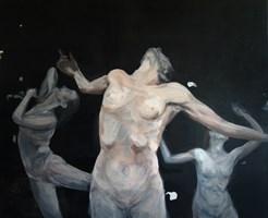 Obraz do salonu artysty Paula Jezior pod tytułem Tancerki