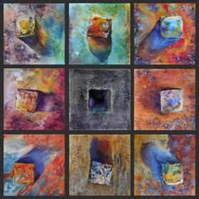 Obraz do salonu artysty Beata Musiał-Tomaszewska pod tytułem Clock