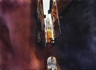 Obraz do salonu artysty Beata Musiał-Tomaszewska pod tytułem Siena