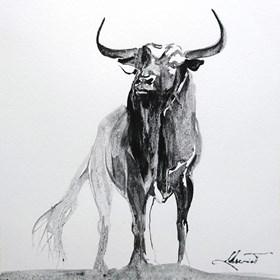 Obraz do salonu artysty Beata Musiał-Tomaszewska pod tytułem Black Bull