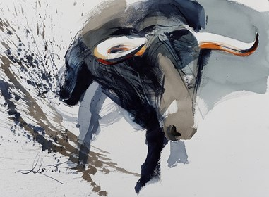 Obraz do salonu artysty Beata Musiał-Tomaszewska pod tytułem El Toro
