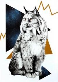 Obraz do salonu artysty Zuzanna Jankowska pod tytułem Przybysz z północy