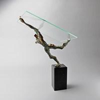 Rzeźba do salonu artysty Tomasz Koclęga pod tytułem Fugiens exercitationes