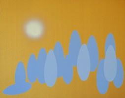 Obraz do salonu artysty Marek Ejsmond-Ślusarczyk pod tytułem Pejzaż II