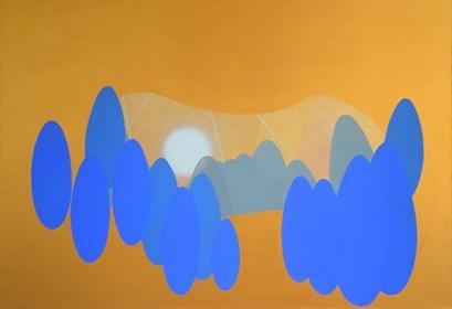 Obraz do salonu artysty Marek Ejsmond-Ślusarczyk pod tytułem Elizjum 1