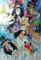 Obraz do salonu artysty Dariusz Grajek pod tytułem Karuzelowicze