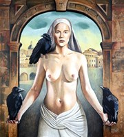Obraz do salonu artysty Daniel Porada pod tytułem Victima