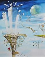Obraz do salonu artysty Dariusz Franciszek Różyc pod tytułem Turris