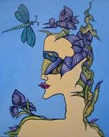 Obraz do salonu artysty Lili Fijałkowska pod tytułem Lady Iris
