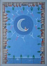 Obraz do salonu artysty Mikołaj Malesza pod tytułem Święty spokój