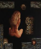 Obraz do salonu artysty Arkadiusz Siarkowski pod tytułem Fortuna
