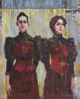 Obraz do salonu artysty Michał Baca pod tytułem Siostry Bonifranta