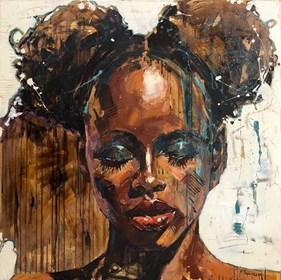Obraz do salonu artysty Marcin Mikołajczak pod tytułem Portret XX