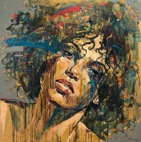 Obraz do salonu artysty Marcin Mikołajczak pod tytułem Portret XXXII