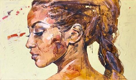 Obraz do salonu artysty Marcin Mikołajczak pod tytułem Portret XXV