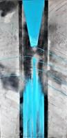 Obraz do salonu artysty Iza Kostiukow pod tytułem Gubić wątek i dni