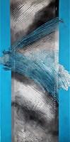 Obraz do salonu artysty Iza Kostiukow pod tytułem Gubić wątek i dni 3