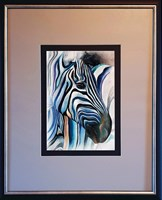 Living room painting by J. Aurelia Sikiewicz-Wojtaszek titled  Yin -Yang 1