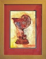 Living room painting by J. Aurelia Sikiewicz-Wojtaszek titled Bowl of magic