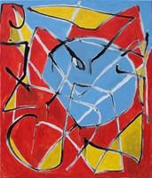 Obraz do salonu artysty Paweł Tkaczyk pod tytułem Bez tytułu