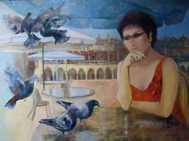 Obraz do salonu artysty Renata Kulig-Radziszewska pod tytułem Smuteczki