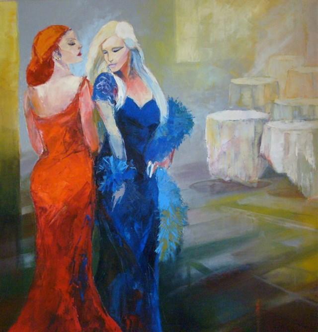 Obraz do salonu artysty Renata Kulig-Radziszewska pod tytułem Zołzy