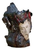 Rzeźba do salonu artysty Wiesław Fijałkowski pod tytułem Do wierszy Leśmiana