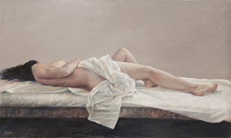 Obraz do salonu artysty Alina Sibera pod tytułem W szarościach