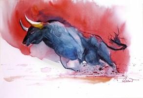 Obraz do salonu artysty Beata Musiał-Tomaszewska pod tytułem Red bull