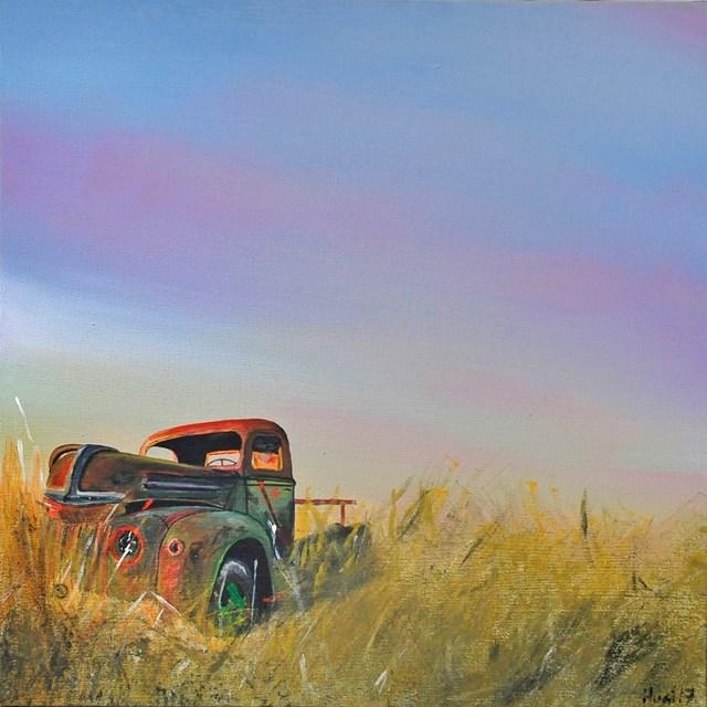Obraz do salonu artysty Hugo Giza pod tytułem Old truck