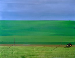 Obraz do salonu artysty Hugo Giza pod tytułem Pole