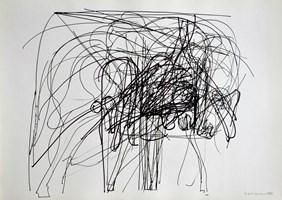Obraz do salonu artysty Hugon Lasecki pod tytułem 18 -bez tytułu