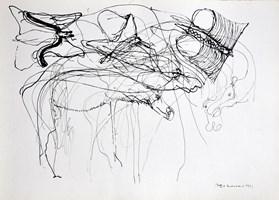 Obraz do salonu artysty Hugon Lasecki pod tytułem 41 -bez tytułu