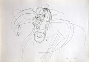 Obraz do salonu artysty Hugon Lasecki pod tytułem 89 -bez tytułu