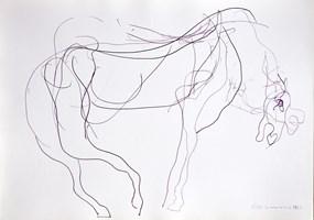 Obraz do salonu artysty Hugon Lasecki pod tytułem 129 -bez tytułu