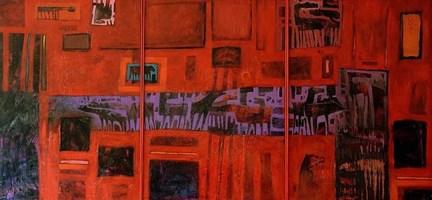 Obraz do salonu artysty Grzegorz Skrzypek pod tytułem Koniostworki tunelowe