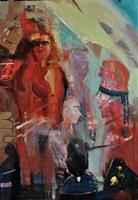 Obraz do salonu artysty Michał Smółka pod tytułem Kłamać i modlić się