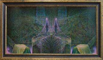 Obraz do salonu artysty Katarzyna Kania pod tytułem Teatr Nieśmiertelności Akt VII